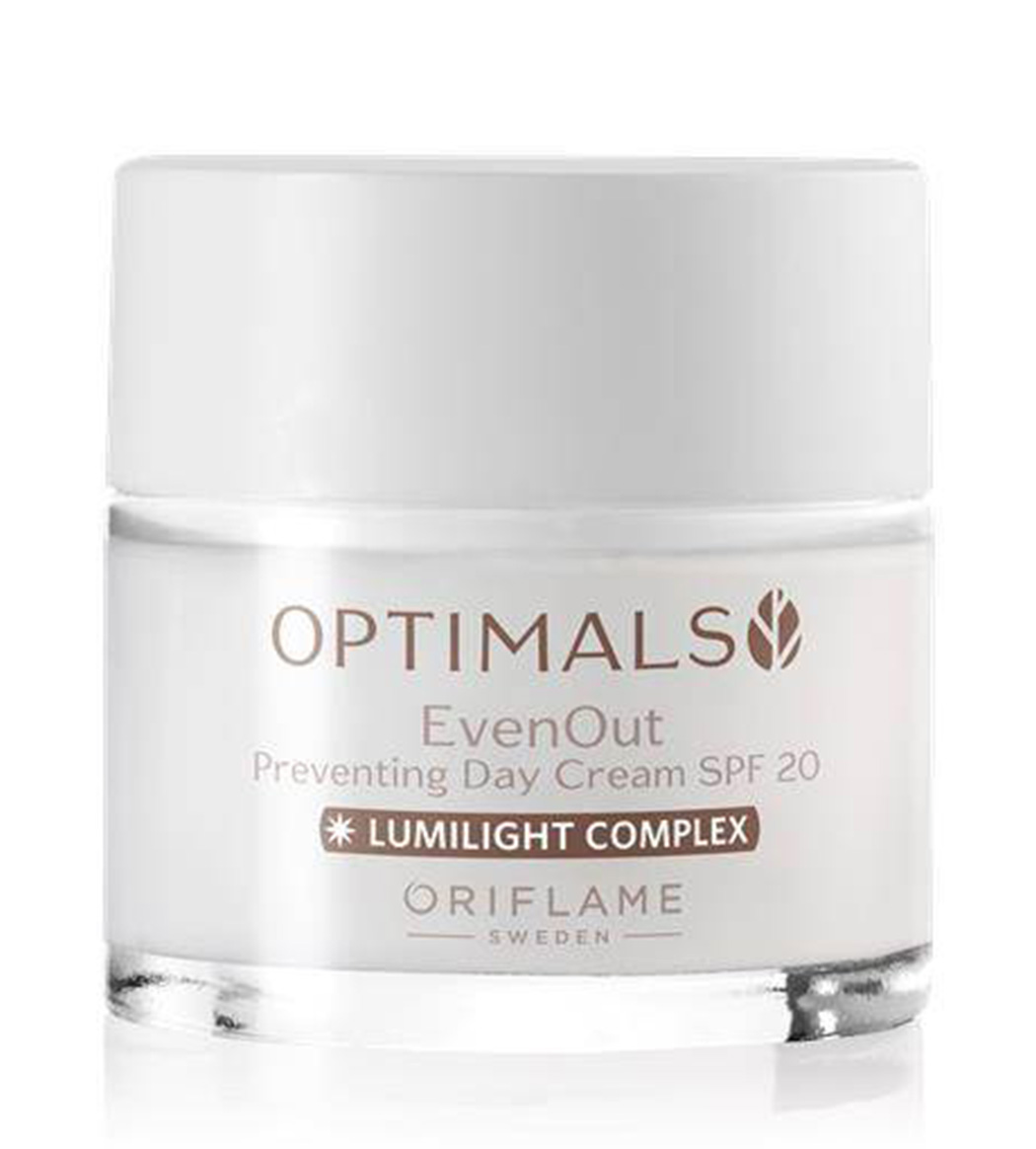 oriflame even out day cream